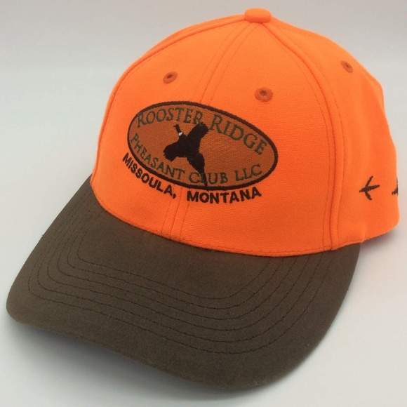 Rooster Ridge Pheasant Club Montana Ball Cap Hat
